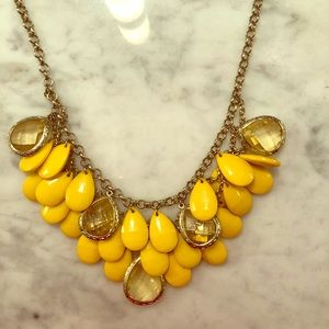 Yellow & Gold Necklace